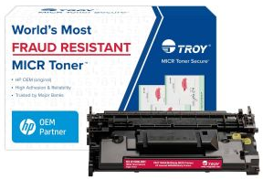 GENUINE TROY M604/M605/M606 Micr Toner Secure High Yield CF281A