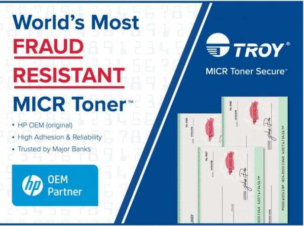 GENUINE TROY P2015 Micr Toner Secure Q7553A