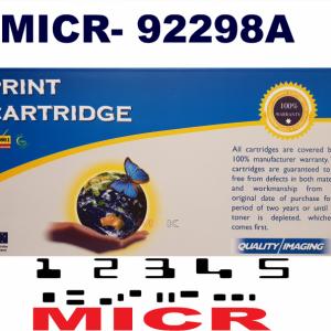 MICR- HP 92298A