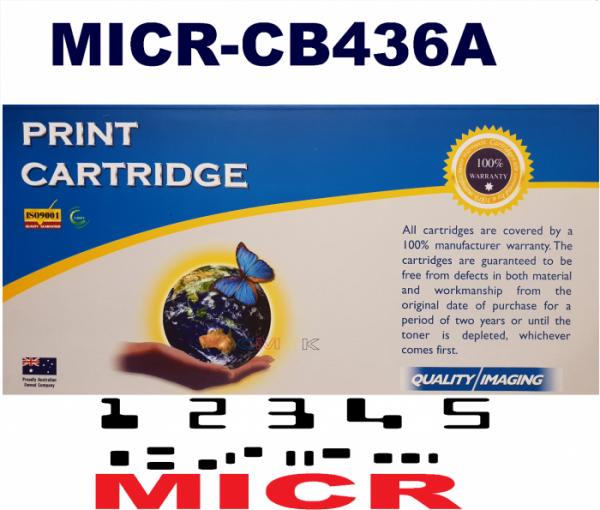 MICR HP CB436A