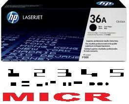 MICR HP CB436A Genuine