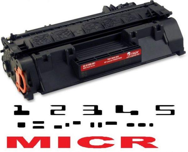 MICR HP CE505A Genuine
