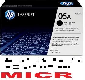 MICR HP CE505A Genuine