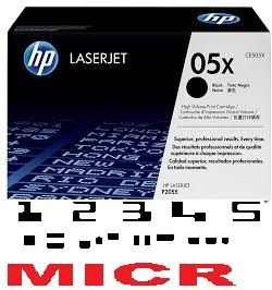 MICR HP CE505X Genuine
