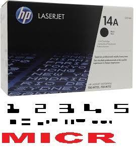 MICR HP CF214A Genuine