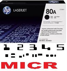 MICR HP CF280A Genuine