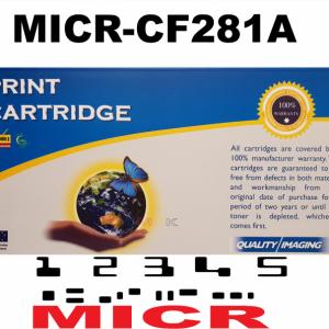 MICR HP CF281A