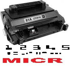 MICR HP CF281A Genuine