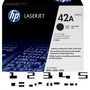 MICR HP Q5942A Genuine