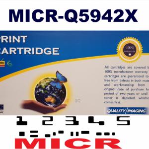 MICR HP Q5942X