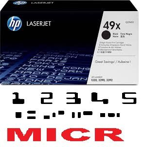 MICR HP Q5949X Genuine