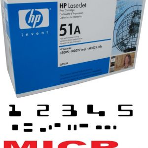 MICR HP Q7551A Genuine