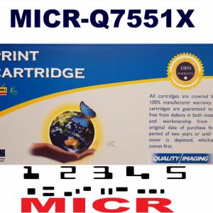 MICR HP Q7551X