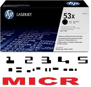 MICR HP Q7553X Genuine