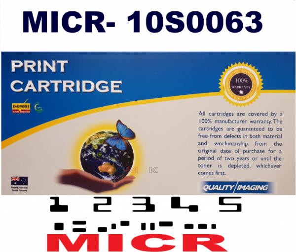 MICR LEXMARK 10S0063