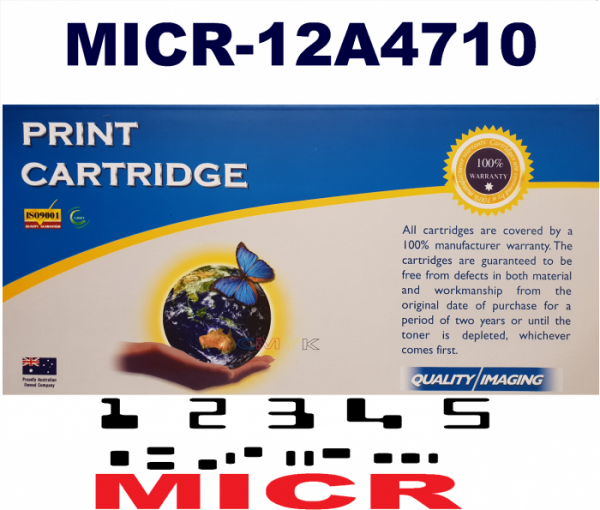 MICR LEXMARK 12A4710