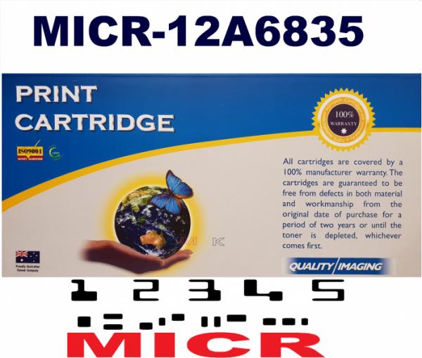 MICR LEXMARK 12A6835