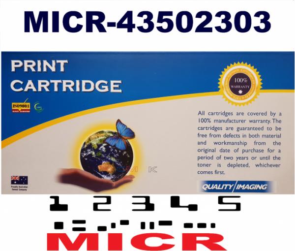 MICR OKI B4400, B4600, 43502303