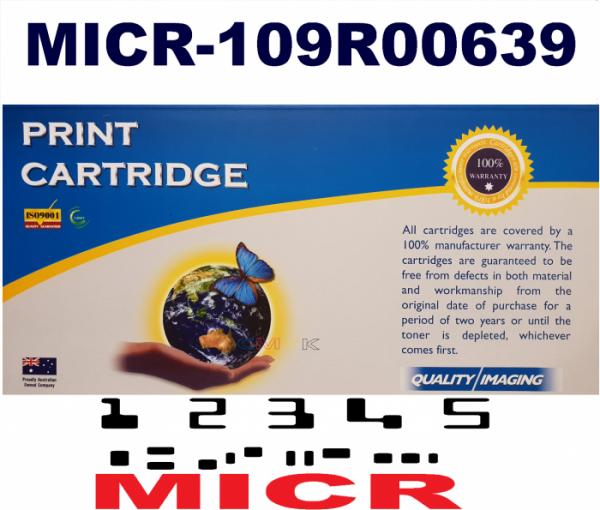 MICR Xerox 109R00639