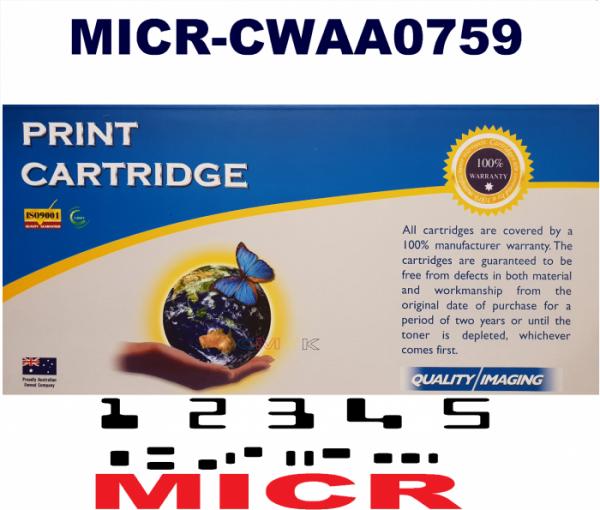 MICR Xerox CWAA0759